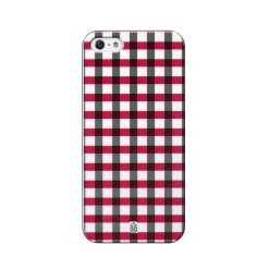 "Case scenario iPhone 5 BOY cover ""Red Check"""