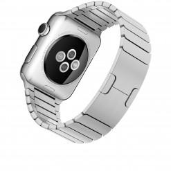Apple Watch - Caixa 42mm de aço inoxidável com pulseira de elos