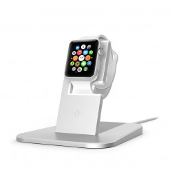 Stand para Apple Watch - twelve south HiRise (prateado)