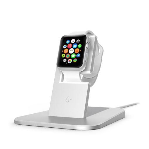 Stand para Apple Watch – twelve south HiRise (prateado)
