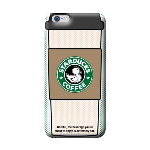 Capa para iPhone 6/6s Benjamins Pop Art (coffee)