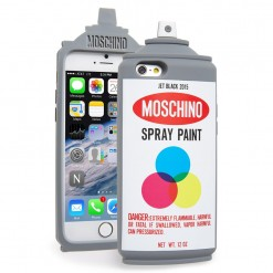 Capa Moschino - Spray Paint para iPhone 6/6S