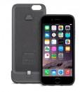 iPhone 6/6s iGlaze ion capa + bateria (steel black)
