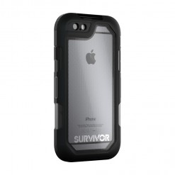 Capa para iPhone 6/6s Plus Griffin - Survivor Summit (black/clear)