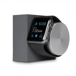 Doca para Apple Watch - Native Union Dock Silicon (slate)