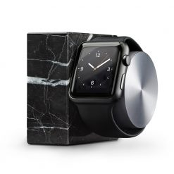 Doca para Apple Watch - Native Union Dock Marble (black)