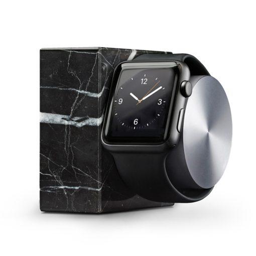 Doca para Apple Watch – Native Union Dock Marble (black)