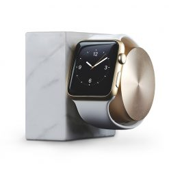 Doca para Apple Watch - Native Union Dock Marble (white)