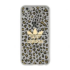 Adidas - Seethrough Cover iPhone 6/6s (Leopard)