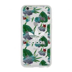 Adidas - Seethrough Cover iPhone 6/6s (white logo)